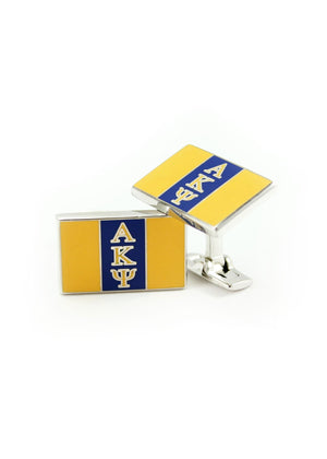 Cuff Links - Alpha Kappa Psi Fraternity Cuff Links