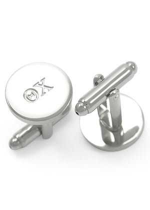 Cuff Links - Theta Chi Fraternity Circular Cuff Links
