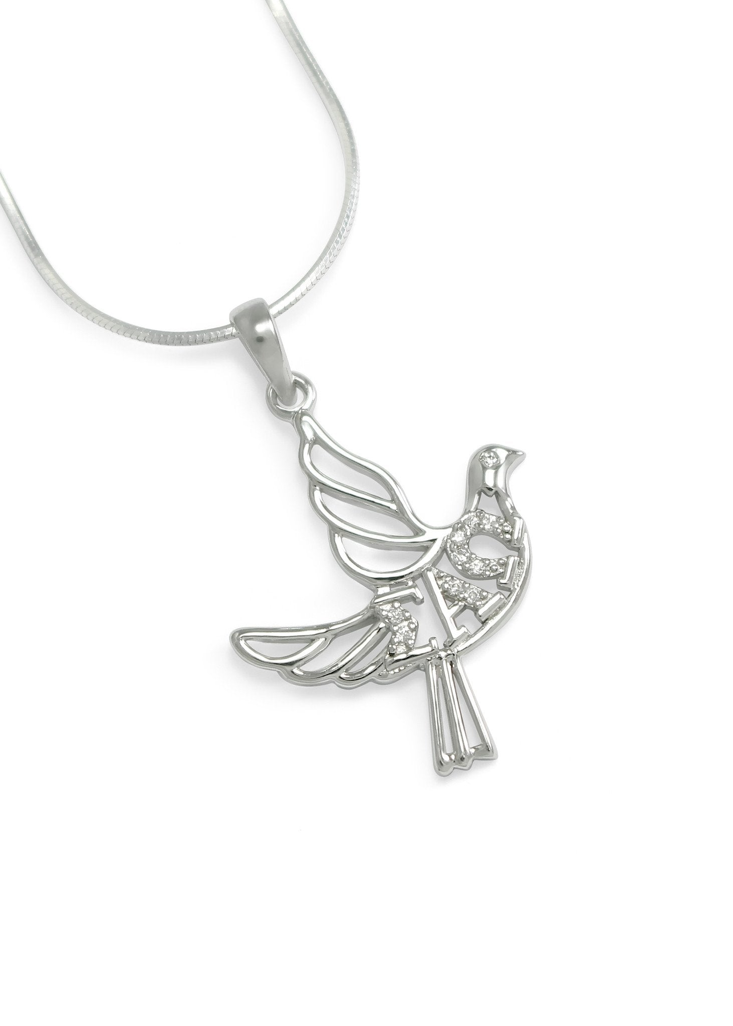 pendant palomas rose s dove diamond tiffany gold co necklace paloma