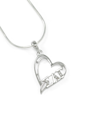 Necklace - Sigma Lambda Gamma Heart Pendant