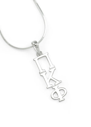 Pendant - Pi Kappa Phi Classic Sterling Silver Lavaliere