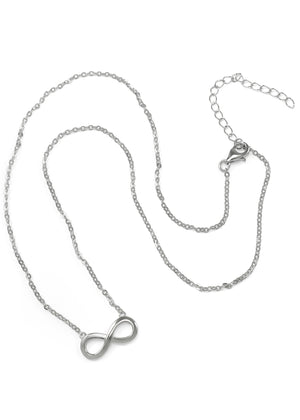 Pendant - Sterling Silver Infinity Necklace