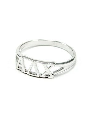 Ring - Alpha Delta Chi Sterling Silver Ring