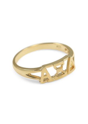 Ring - Alpha Xi Delta Sunshine Gold Ring