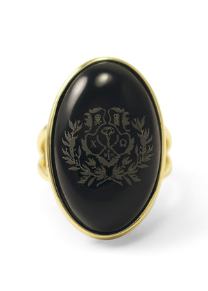 Ring - Chi Omega Crest Duchess Ring