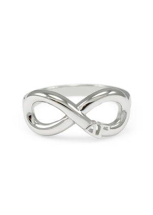 Ring - Delta Gamma Sterling Silver Infinity Ring