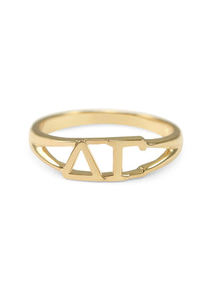 Ring - Delta Gamma Sunshine Gold Ring