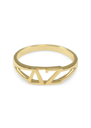 Ring - Delta Zeta Sunshine Gold Ring