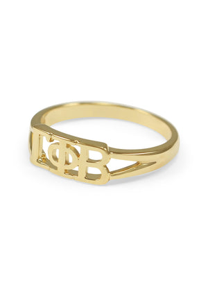 Ring - Gamma Phi Beta Sunshine Gold Ring