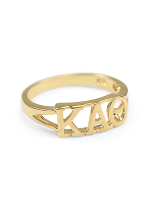 Ring - Kappa Alpha Theta Sunshine Gold Ring