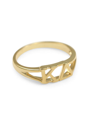 Ring - Kappa Delta Sunshine Gold Ring
