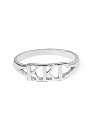 Ring - Kappa Kappa Gamma Sterling Silver Ring