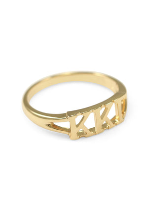 Ring - Kappa Kappa Gamma Sunshine Gold Ring