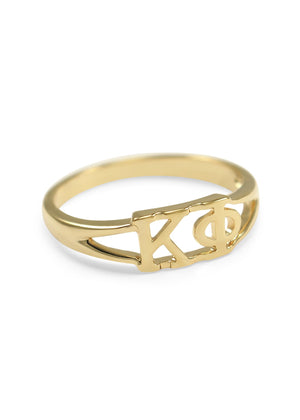 Ring - Kappa Phi Sunshine Gold Ring