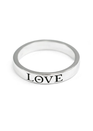 Ring - LOVE Lettered Ring