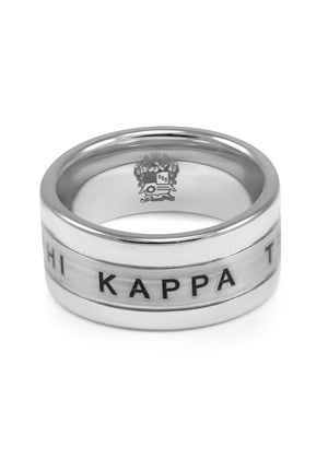 Ring - Phi Kappa Theta Fraternity Tungsten Ring