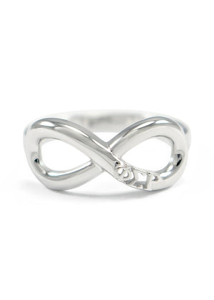 Ring - Phi Sigma Rho Sterling Silver Infinity Ring