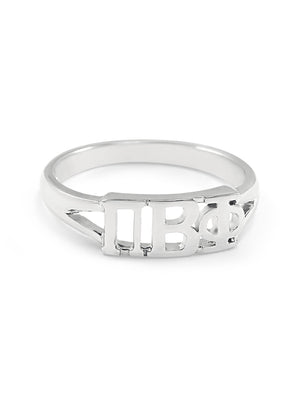 Ring - Pi Beta Phi Sterling Silver Ring