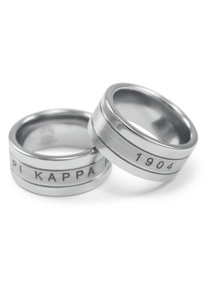 Ring - Pi Kappa Phi Tungsten Ring
