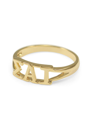 Ring - Sigma Alpha Iota Sunshine Gold Ring