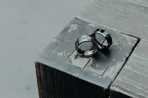 Ring - Sigma Chi Black Tungsten Ring