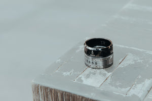 Ring - Sigma Chi Fraternity Tungsten Ring With Founding Date