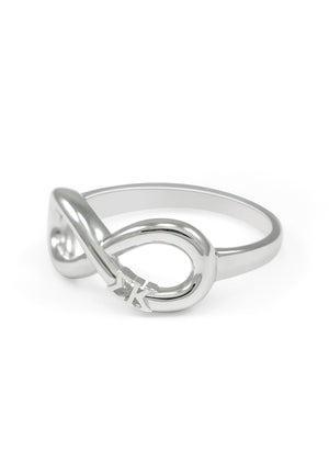 Ring - Sigma Kappa Sterling Silver Infinity Ring