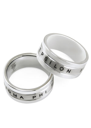 Ring - Sigma Phi Epsilon Tungsten Ring