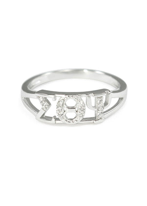 Ring - Sigma Theta Psi Sterling Silver Ring