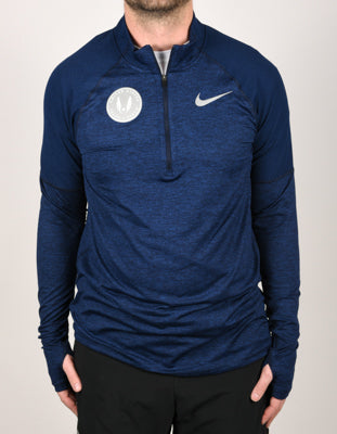 Nike USATF Men's Element 2.0 Half-Zip - Obsidian