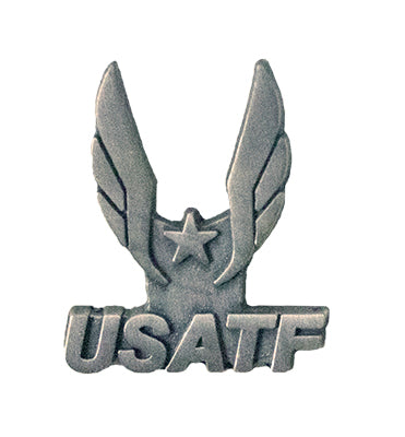 USATF Antique Silver Lapel Pin
