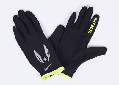 Nike USATF Men's Lightweight Rival Run Gloves