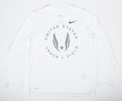 Nike USATF Youth Circle Wings Long Sleeve