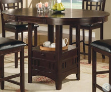 Load image into Gallery viewer, Lavon Cappuccino Counter Height Dining Room Set