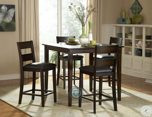 Griffin 5-Piece Pack Counter Height Dining Set