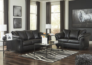 Betrillo Black Living Room Set