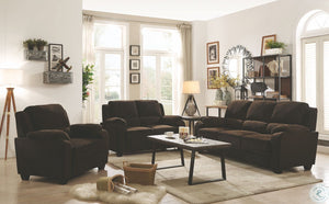 Northend Chocolate Living Room Set