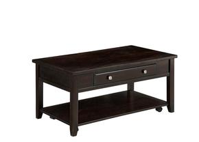 Rectangular Lift Top Coffee Table Walnut