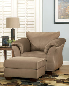 Darcy Mocha Living Room Set