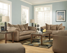 Load image into Gallery viewer, Darcy Mocha Living Room Set
