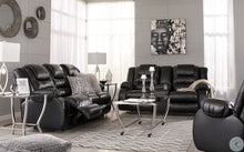 Load image into Gallery viewer, Vacherie Black Reclining Living Room Set