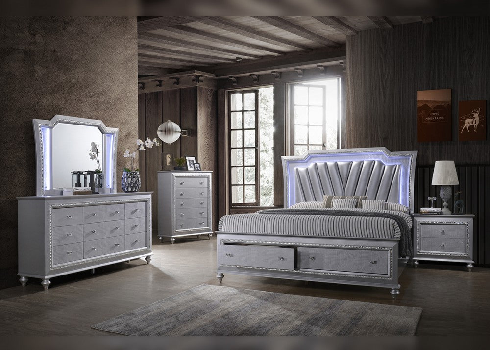 B117 Queen 5pc bedroom group