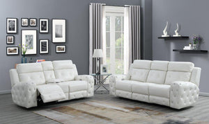 U8311 WH 2pc Living Room Group