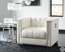 Load image into Gallery viewer, Chaviano 2pc Pearl White Living Room Set