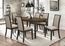 Load image into Gallery viewer, Clarksville 5pc Two Tone Dining Room Set