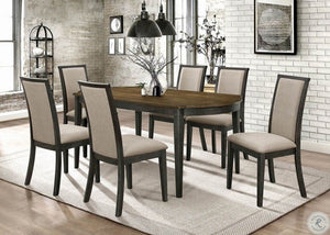 Clarksville 5pc Two Tone Dining Room Set