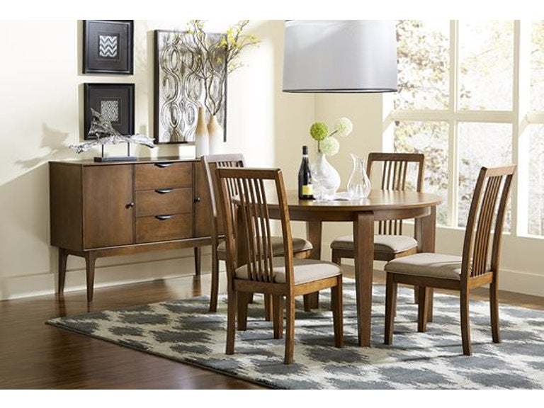 Progressive Furniture 5pc Dining Room Round Dining Table