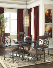 Load image into Gallery viewer, Glambrey Round Dining Room Set