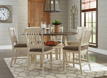 Load image into Gallery viewer, Bolanburg Two-tone Round Counter Height Dining Room Set