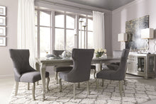 Load image into Gallery viewer, Coralayne Silver Rectangular Extendable Dining Room Set